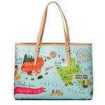 Greetings from Hawaii Large Map Tote